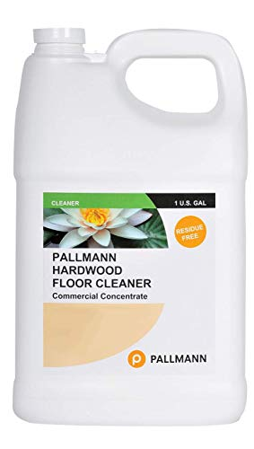 Pallmann Hardwood Floor Cleaner Concentrate 1 Gallon - Makes 8 Gallons of Cleaner - Water-Based Streak-Free Formula