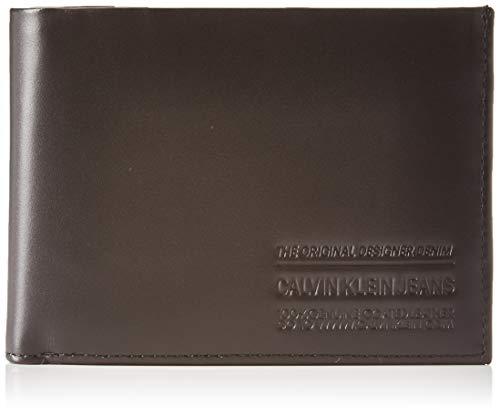 Calvin Klein Herren Ckj Box Office Billfold Extra Schultertasche, Schwarz (Infinite Black), 1x1x1 cm
