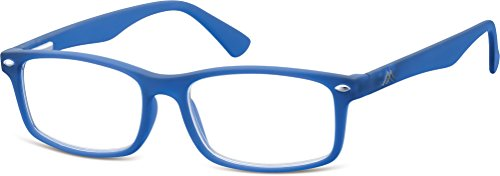 Montana Eyewear Sunoptic MR83C Lesebrille in blau- Stärke +2.50 inklusive Soft Etui