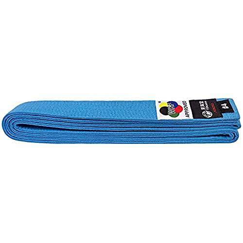 Tokaido Kumite Karate Gürtel Blau Cinturón, Unisex Adulto, Azul, 315 cm