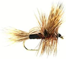 Fulling Mill Black Humpy Size Dry 12 per Japan Outlet ☆ Free Shipping Maker New Dozen Fly