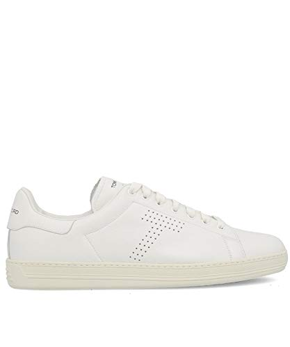 Tom Ford Luxury Fashion Mens J1045TDAPBRR White Sneakers | Fall Winter 19