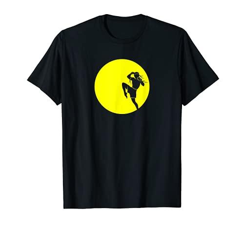 Thaiboxen Flying Knee T-Shirt für MMA...