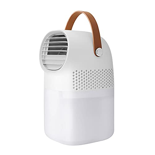 KELITE Escritorio pequeño Ventilador portátil refrigerante Ventilador USB más Agua enfriamiento de Aire purificación de Aire Tercera Velocidad Velocidad Baja diseño de Ruido Inicio/Oficina