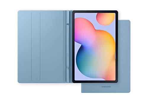 """Samsung Galaxy Tab S6 Lite - Tablet de 10.4"""" (WiFi, Procesador Exynos 9611, 4 GB RAM, 64 GB Almacenamiento, Android 10), Color Azul + Book Cover, Azul"""