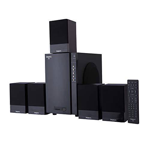 Impex 5.1 BRIO 50 W Multimedia Bluetooth Speaker System (Black)