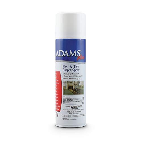Adams Plus Flea and Tick Carpet Spray, 16 Ounce