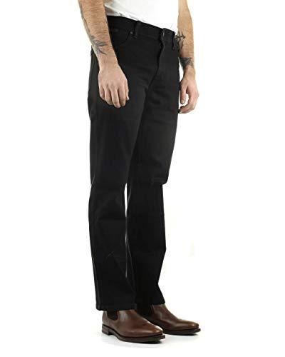 Wrangler Herren Texas Contrast Straight Jeans, Blau (Bonfire Blue), 36W / 32L