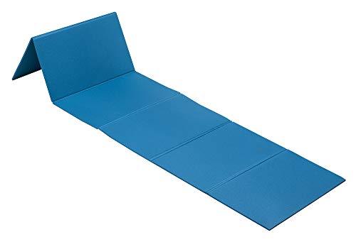 Movi Fitness Tappetino xpe per esercizi pieghevole, 180 x 50 x 0,7 cm Aperto - 51 x 32 x 6 cm Ripiegato