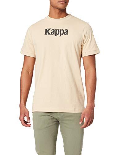 Kappa DAFFON Camiseta, Unisex, Rojo, M