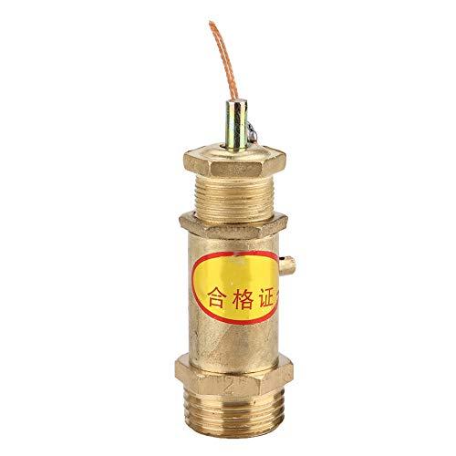Veiligheidsventiel 1 stuks G1/2 afblaasventiel veertype veiligheidsklep voor stoomgeneratoren 2KG