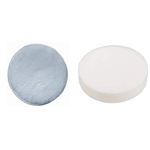 Bosch DIY Lammwollhaube (für Exzenterschleifer verschiedene Materialien, Ø 150 mm, mit Klettsystem) & Connex COM181150 Polierschwamm 150 mm mit Klettaufnahme