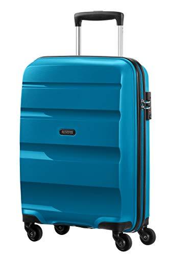 American Tourister Bon Air - Spinner S Equipaje de mano, 55 cm, 31.5 liters, Azul (Seaport Blue)