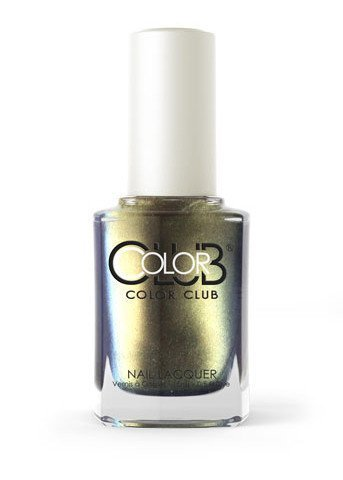 Color Club-Cash Only Nail Lacquer from the Oil Slick Collection, .5 oz by Color Club