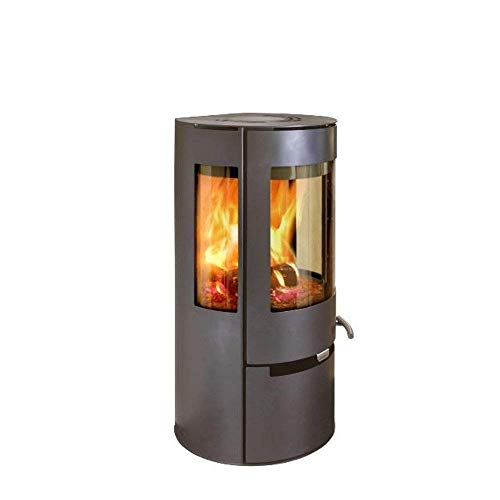 Aduro 9 AIR - Black DEFRA Danish 6kW wood burning stove