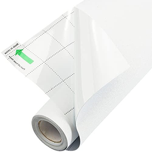 FEOMOS Película opaca blanca para ventana, 100% bloqueando la luz, se adhiere a la ventana, privacidad total opaca, oscurecimiento de la habitación, fácil de quitar, 44 cm x 200 cm