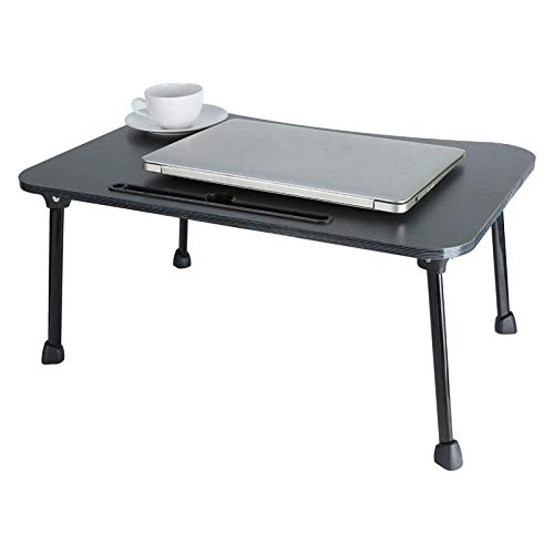 YWN Large Bed Tray Multifunction Laptop Desk Lap Desk Foldable Portable Standing Breakfast Reading Tray Holder for Couch Floor for Adults/Students/Kids