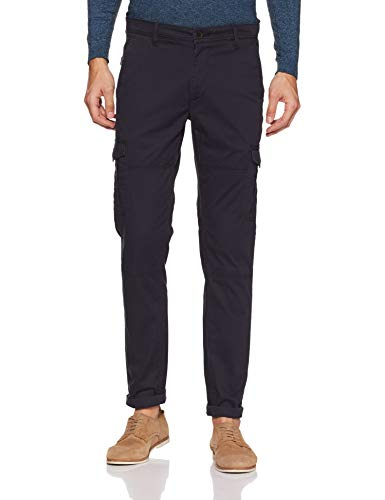 Amazon Brand – Symbol Men's Slim Fit Casual Trousers