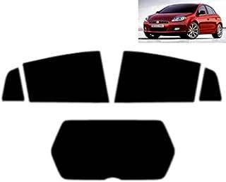 pour Opel Combo 2012 Couvre-Volant de Voiture en Cuir Artificiel Noir Cousu /à la Main Bricolage SLONGK pour Fiat Bravo 2007-2015 Doblo 2010-2015