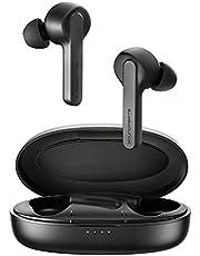 SoundPEATS Słuchawki douszne Bluetooth 5.0, słuchawki douszne, z wbudowanym mikrofonem, słuchawki douszne z dźwiękiem stereo 3D