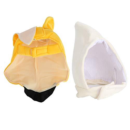 Fdit honden grappige kleding banaan stijl teddy kostuum kleine huisdier Halloween Party