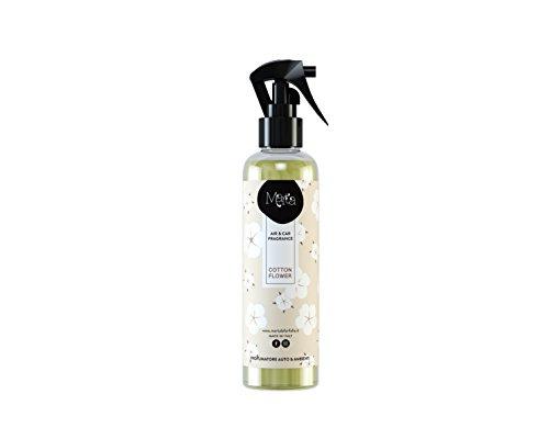 profumatore deodorante per auto e ambienti spray 250ml fragranza Cotton Flower talcata
