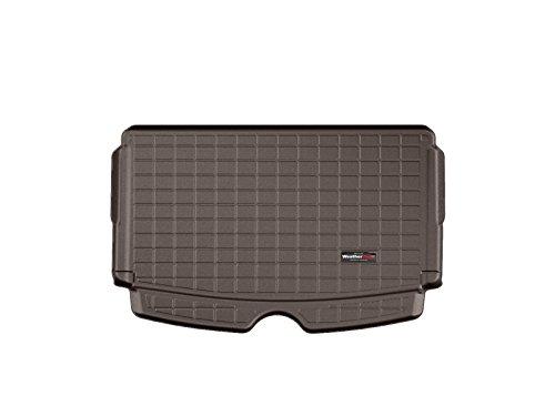 Weathertech CargoLiner kompatibel für Mini Countryman R60 Flache Ladefläche (Hinweis) 2011-17|Kakao|Ohne Stoßstangenschutz
