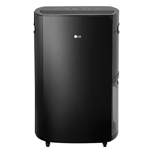 LG UD501KOJ5 PuriCare 2019 50-Pint Pump and Wi-Fi in Black Energy Star Dehumidifier