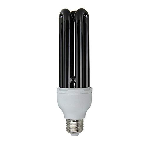 LUOLENG E27 Bombilla de lámpara germicida UVC, desinfectante UV Lámpara de desinfección de luz Ácaros de cuarzo Luces para la oficina del hogar, trampas Insectos