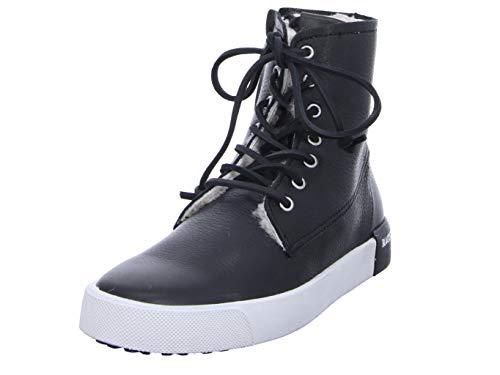 Blackstone Damen Stiefeletten QL41 Black schwarz 570035