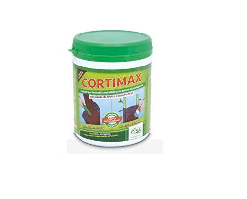 CORTIMAX Mastice per innesti e potature con azione cicatrizzante per piante da frutto e ornamentali 500 gr CISA