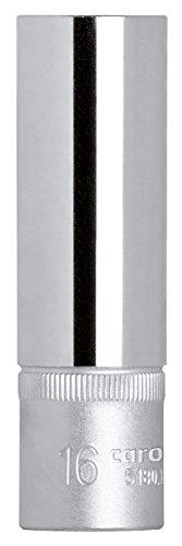 Carolus 5180.16 - Vaso para bujias con imán 1/2' 16 mm