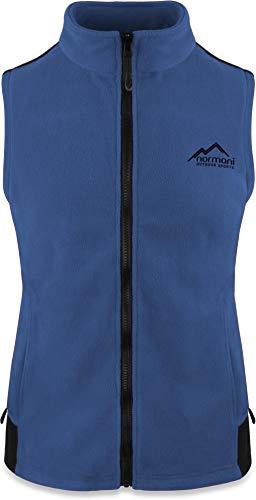 normani Fleece Weste für Damen mit Reißverschlusstaschen, Stehkragen, ZIP-T3K System Farbe Navy Größe 3XL