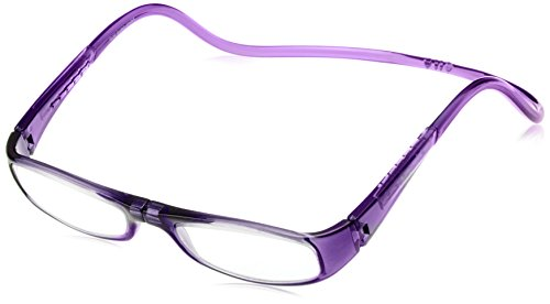 [クリックリーダー] 老眼鏡 CliC Euro メンズ パープル 日本 +1.00-(日本サイズM相当)
