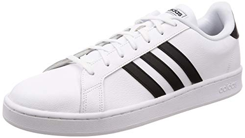 Adidas Grand Court Zapatillas para Hombre, Color Footwear White/Core Black/Footwear White, 7