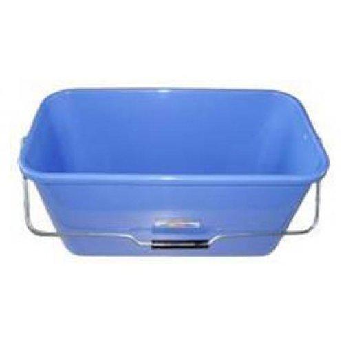 Teko Wischeimer mit Metallhalterung, Kunststoff, 12 l, Blau, Einheitsgröße