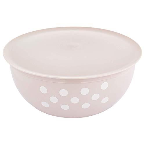 Salatschüssel mit Deckel 3,5 Liter, BPA-freier Kunststoff - Servierschüssel Rührschüssel Schüssel