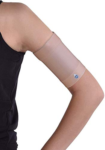 Dia-Band, brazalete de mantenimiento y protección para sensor de glucemia Freestyle Libre, Medtronic, Dexcom o Omnipod – Banda para diabética cómoda y reutilizable (XXL (33-37 cm)