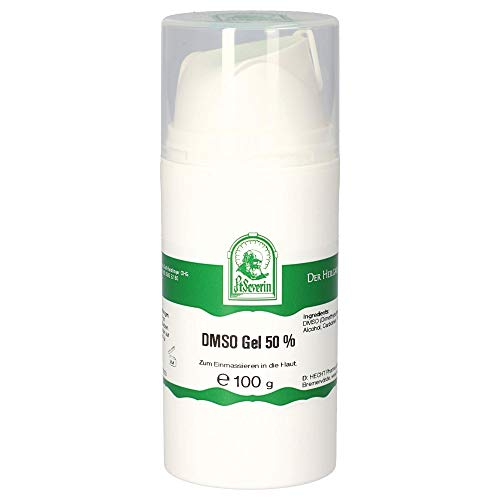 Gall Pharma DMSO-Gel 50%, Weiß, Grün, 100 g