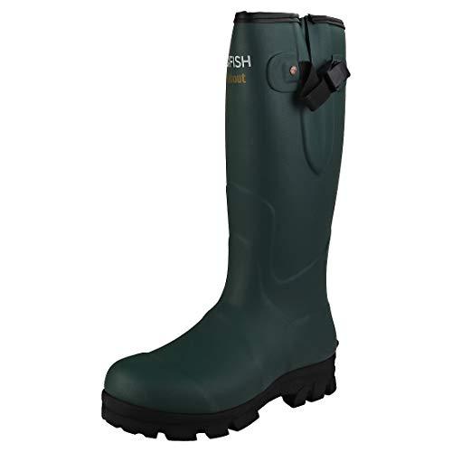 Rockfish Neoprene Lined Groundhog Wellington Boots Uk 7 Black