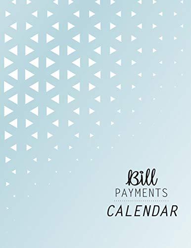 Bill Payments Calendar: Simple Monthly Bill Payments Calendar with Checklist Box Organizer Planner Log Book Money Debt Tracker Keeper Budgeting Financial Planning Budget Journal Notebook