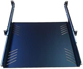 Penn Elcom R1290/1U Sliding Rack Tray (Audio, AV, IT, DJ) Equipment Shelf for 1 Rack Space up to 15