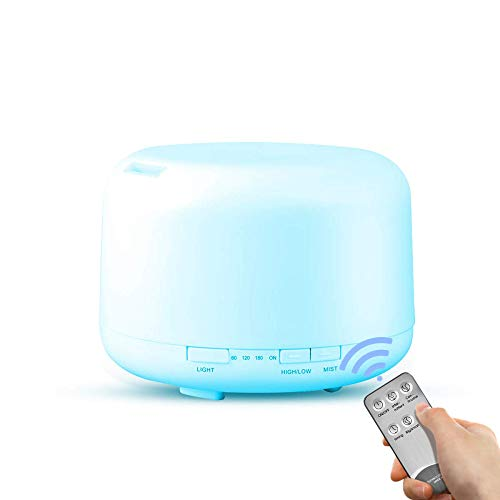 SGZBY Aromatherapie Luftbefeuchter Fernbedienung Aromatherapie Maschine Große Kapazität Bunte Ätherisches Öl Diffusor Ultraschall Luftbefeuchter