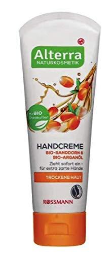 Handcreme Bio-Sanddorn & Bio-Arganöl - Für trockene Haut