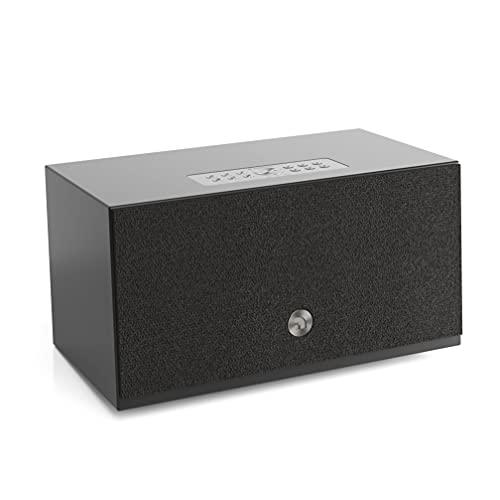 Kabelloser Multiroom Lautsprecher - Tragbarer Speaker - AirPlay 2 - Google Assistant und Cast - Spotify Connect - Bluetooth - Sprachsteuerung - C10 MkII - Schwarz