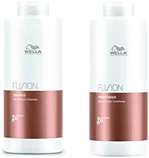 Kit Shampoo e Condicionador Fusion Wella Professionals 2x1000ml