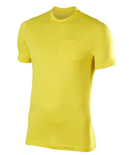 Falke Quest - Camiseta para Hombre, Primavera/Verano, Hombre, Color Sun (1380), tamaño Large