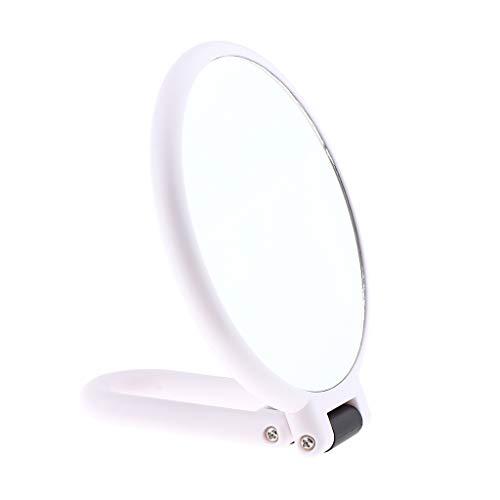 Sharplace Miroir de Maquillage de Vanité, Miroir de Table avec Tournant orientable sur 360° - # 4Grossissant X3
