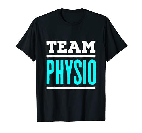 Equipo Fisioterapia Fisioterapia Fisioterapeuta Camiseta