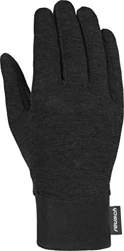 Reusch Primaloft Silk Liner Handschuhe, Black, 7